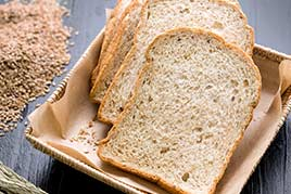 homemade wheat bread